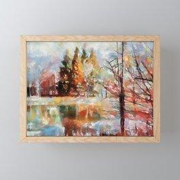 Canaan Valley Pond PhotoArt Framed Mini Art Print