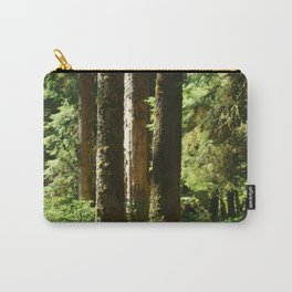 Walkway in Hoh Rainforest Carry-All Pouch