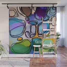 Abstract Composition 684 Wall Mural