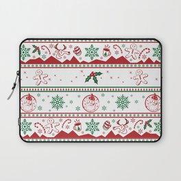 Santa babe red & green Laptop Sleeve