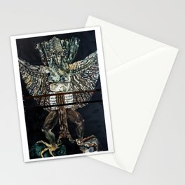 Garuda ancient flight temple Stationery Cards
