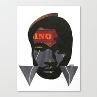 childish gambino Canvas Prints featuring Childish Gambino by American Cut