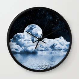 Ocean Dream Space Wall Clock