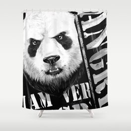 angry Shower Curtain