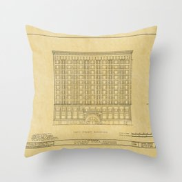 Chicago Stock Exchange 2 Throw Pillow
