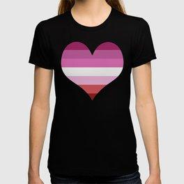 Lesbian Heart T-shirt