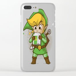 Cartridge of time Clear iPhone Case