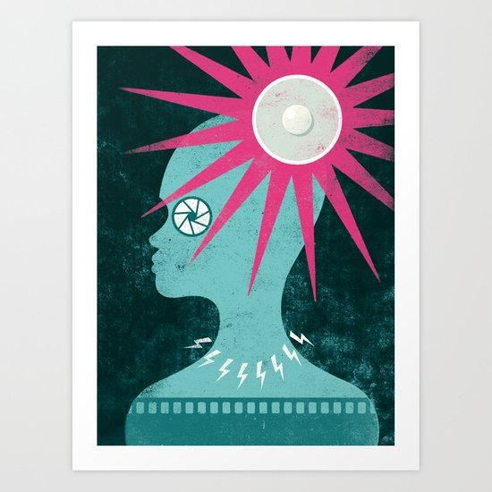 Glare - Part II Art Print