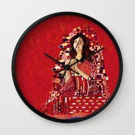Portrait of Clara Oswin-Oswald Wall Clock