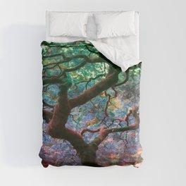 The Japanese Maple Duvet Cover