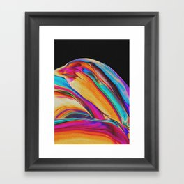 DAYS OF HOW AND WHY Framed Art Print