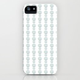 Star Flower Pattern - JUSTART © iPhone Case