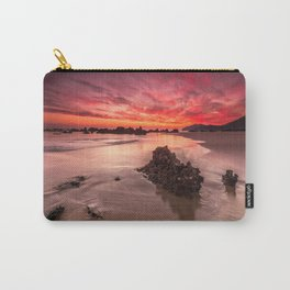 Sunset Fire Carry-All Pouch