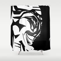 wicked Shower Curtains featuring Wicked by Vibrance MMN