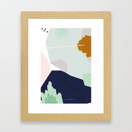 Tipping Point Framed Art Print