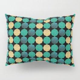 Glitzy Greens Pillow Sham