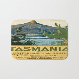 Vintage poster - Tasmania Bath Mat