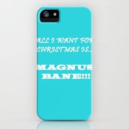 Magnus iPhone Case