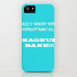 Magnus iPhone Case