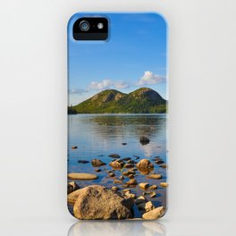Jordan Pond In Acadia iPhone Case