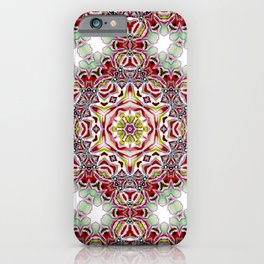 Artdeco Structural Maroccan in Artistic Style iPhone Case