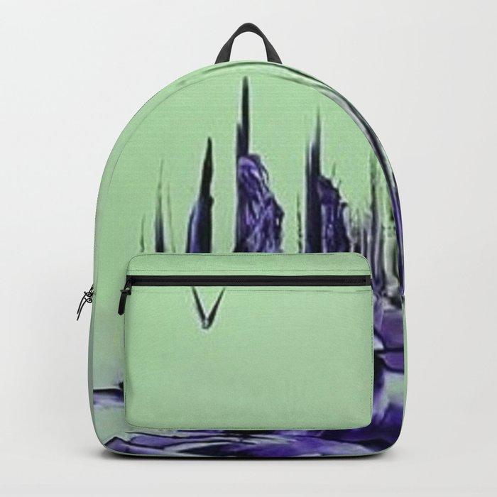 Purple alienscape Backpack