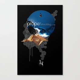 Proper Shredding Canvas Print