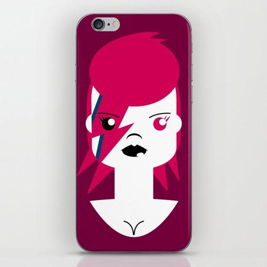 Ziggy Stardust (Bowie) iPhone & iPod Skin