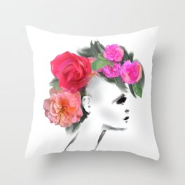 Belle Mohican Throw Pillow