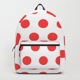 red polka dots Backpack