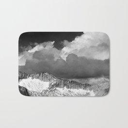 Clouds - White Pass, Kings River Canyon Bath Mat