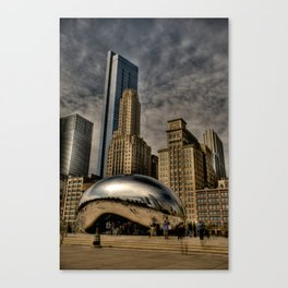 Buildings Rising From Behind Canvas Print