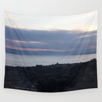 law Wall Tapestries featuring Dundee Law 3 by RMK Creative