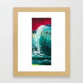 Falls Framed Art Print