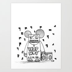 hip hop is all the rage Art Print