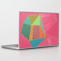 diamonds Laptop & iPad Skins featuring Diamonds by Sandra Arduini
