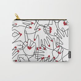 HANDS / pattern pattern Carry-All Pouch