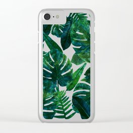Perceptive Dream    #society6 #tropical #buyart Clear iPhone Case