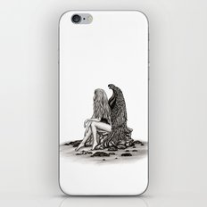 Angel , lost in thought iPhone & iPod Skin