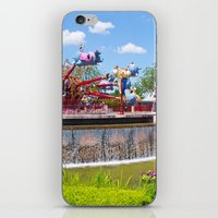 dumbo iPhone & iPod Skins featuring Dumbo Ride by ThatDisneyLover