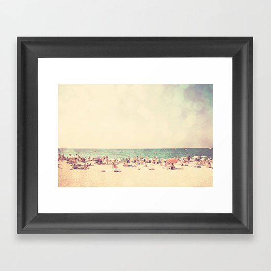 like something out of a beach boys song ...  Framed Art Print