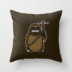 Chewtoro Throw Pillow