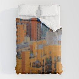 Urbanization No.1 Comforters