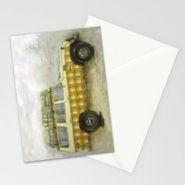 Plaid Land Cruiser Stationery Cards