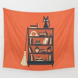 Ghibli Shelf // Miyazaki Wall Tapestry