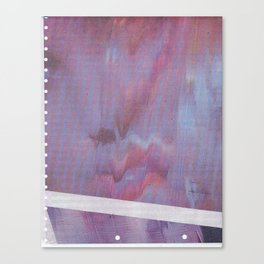 Webcam Glitch Canvas Print