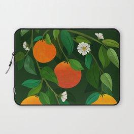 Oranges and Blossoms / Botanical Illustration Laptop Sleeve