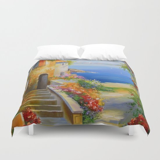 South Yard Duvet Cover