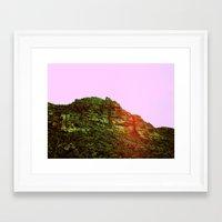 et Framed Art Prints featuring ET by Hayley Mayne