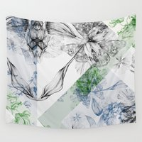 serenity Wall Tapestries featuring Serenity by La Scarlatte